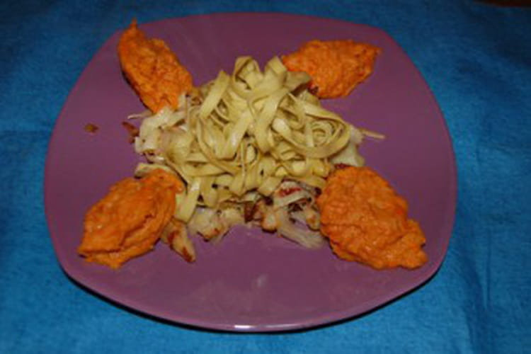 Chou au curry