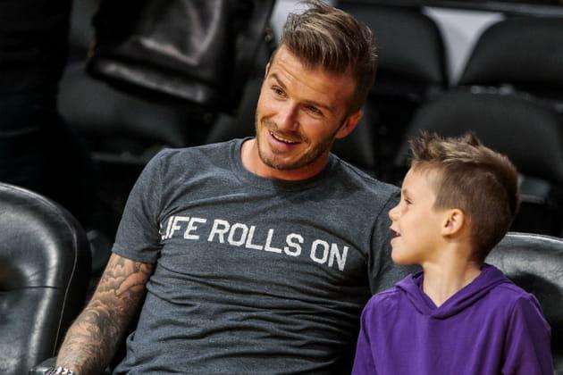 David Beckham, papa joueur