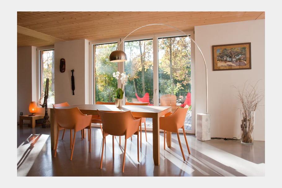 40 salles manger pour tous les go ts journal des femmes. Black Bedroom Furniture Sets. Home Design Ideas
