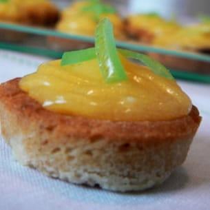 tartelettes au citron et pain d'épices