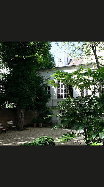 Chez Eugène Delacroix à Paris