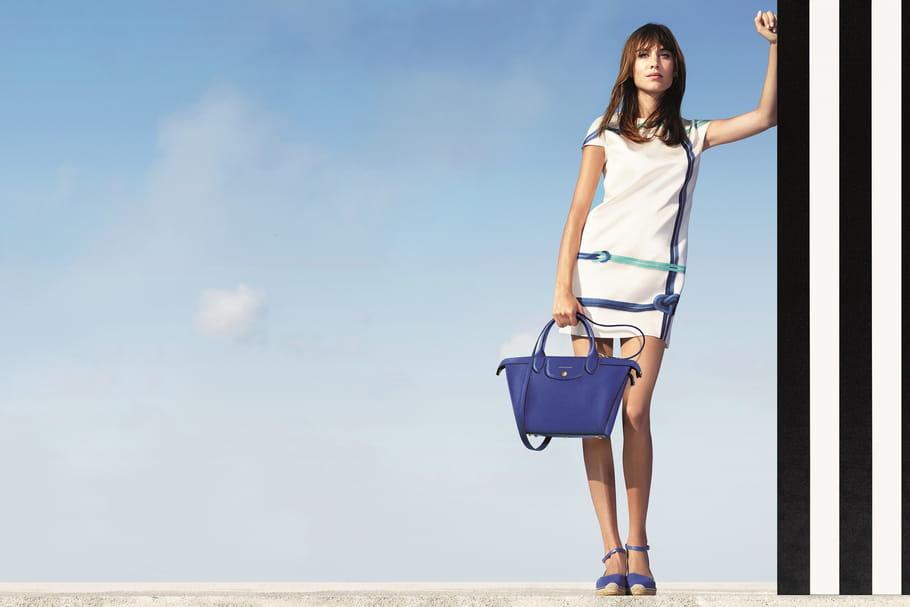 Alexa Chung, encore égérie Longchamp