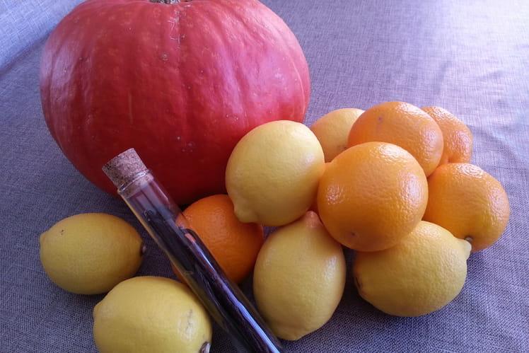Confiture citrouille et agrumes