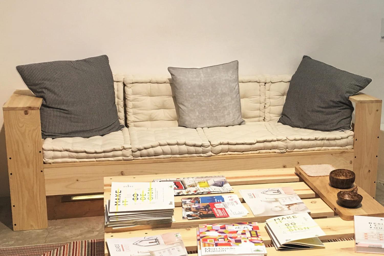 Comment fabriquer un canapé en palette?