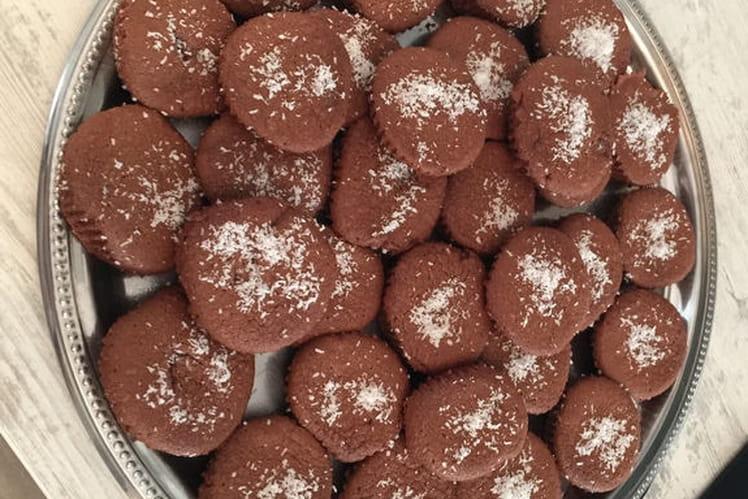 Moelleux ou fondant au chocolat et crême de marrons