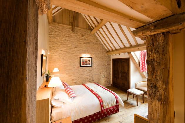 L'Hostellerie de Levernois : les chambres