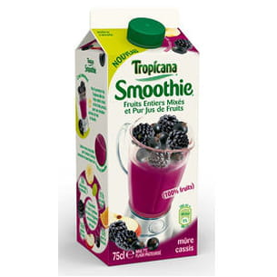 smoothie mûre cassis tropicana