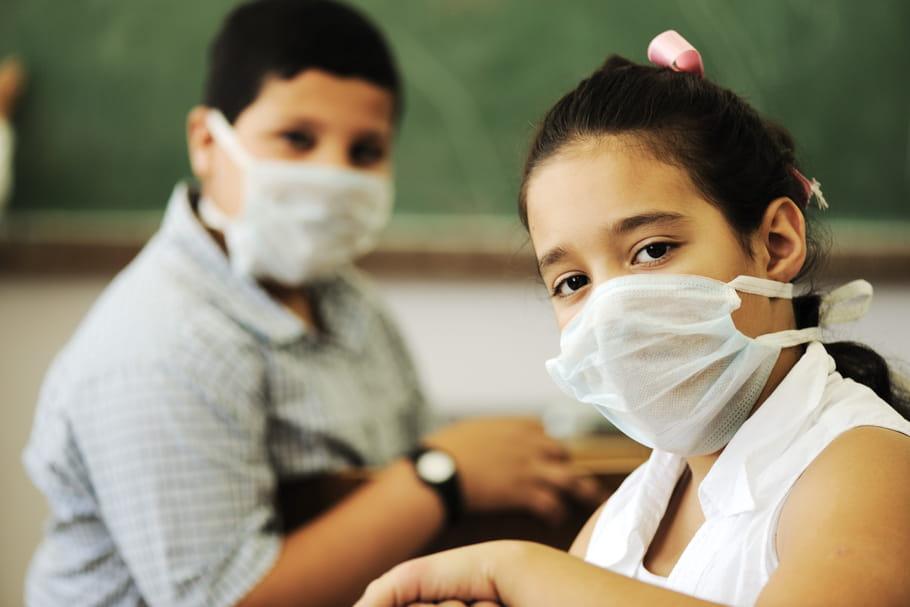 Contamination à l'école: quels sont les risques?