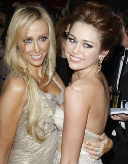 Miley Cyrus et sa mère Letitia Jean Tish