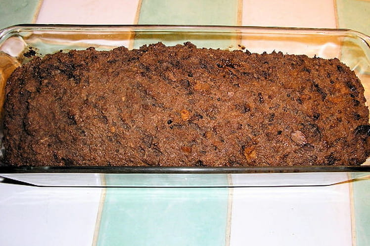 Pudding pain-chocolat