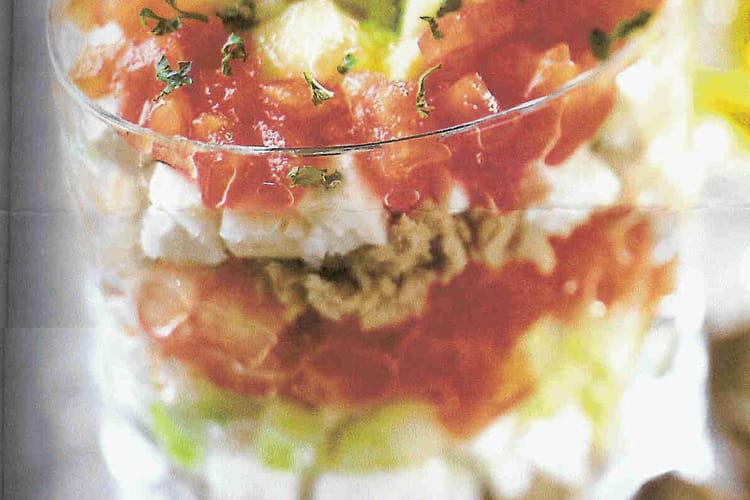 Tartare tomate-concombre