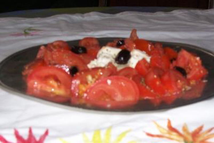 Tomates-mozzarella à ma façon