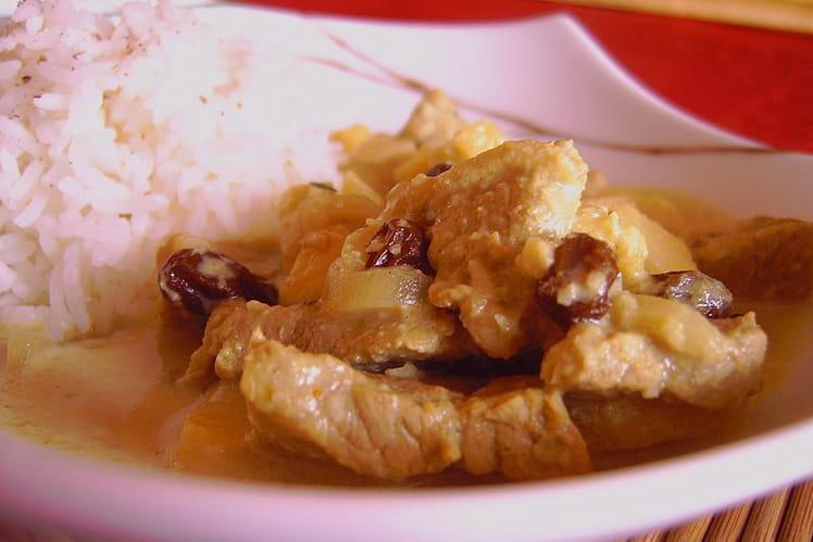Curry de veau
