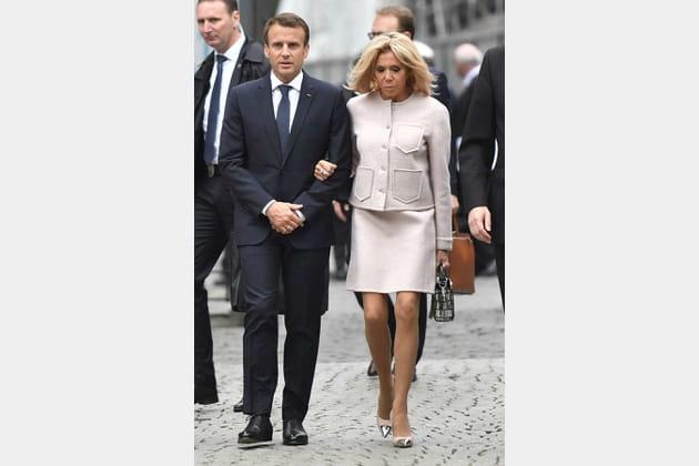 Brigitte Macron le 10mai 2018