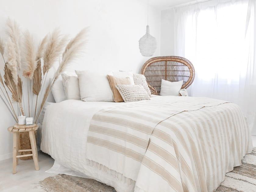 Une chambre immaculée comme un paradis blanc