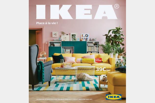 """Le catalogue Ikea 2018fait """"place à la vie""""!"""