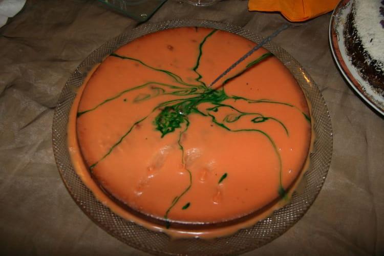 Recette de g teau d 39 halloween au chocolat blanc la recette facile - Recette gateau halloween facile ...