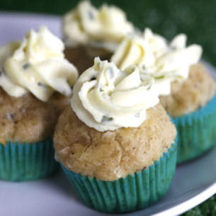 mini-cupcakes poulet ciboulette