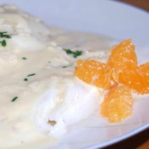 filet de colin sauce mandarine