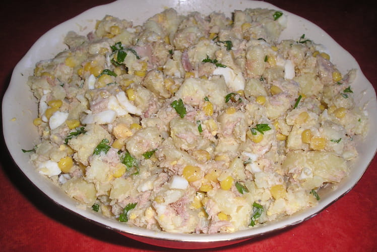 Salade de thon au yaourt