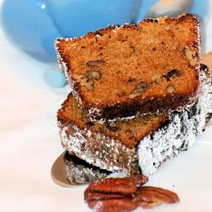 cake au café et noix de pécan