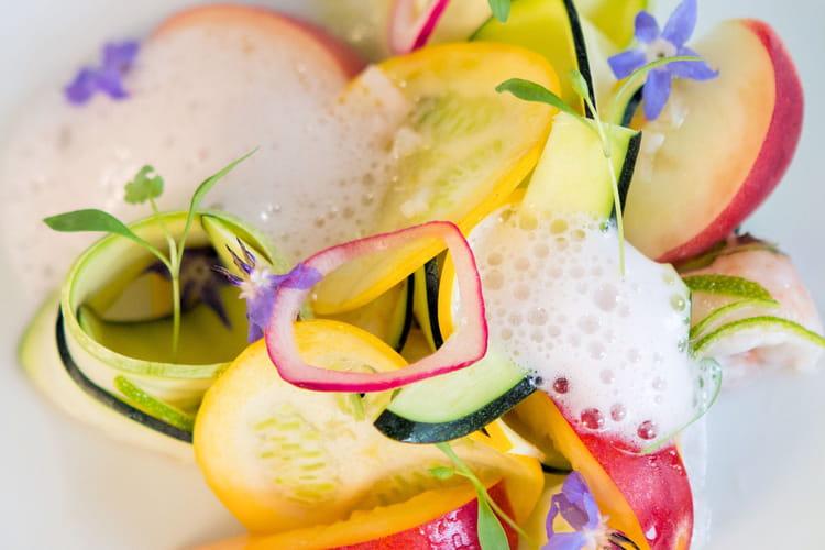 Bellini : Cocktail de langoustines sur assiette