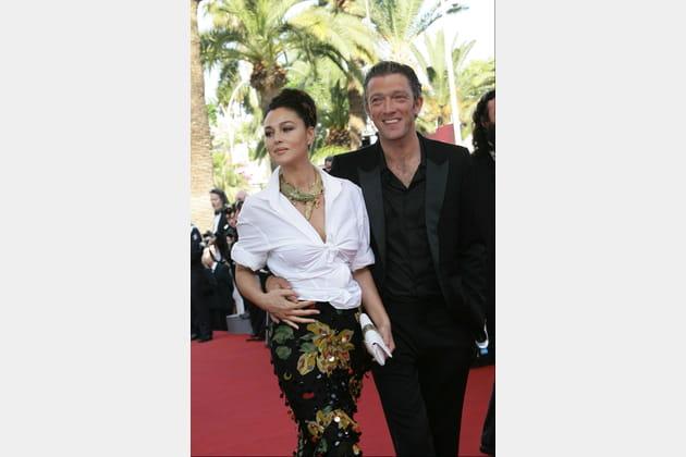 Monica Bellucci et Vincent Cassel