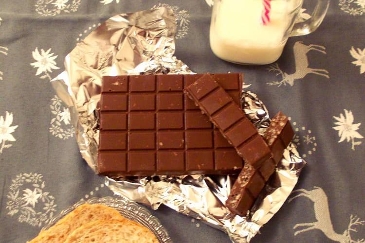 Tablettes de Chocolat crunch