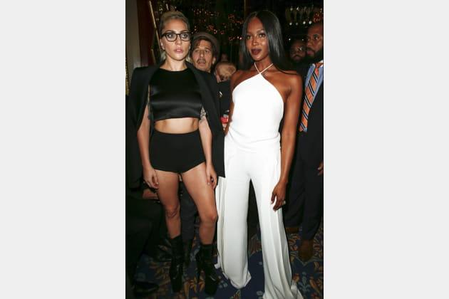 Lady Gaga et Naomi Campbell