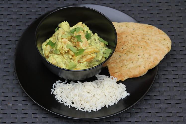 Curry de légumes coco