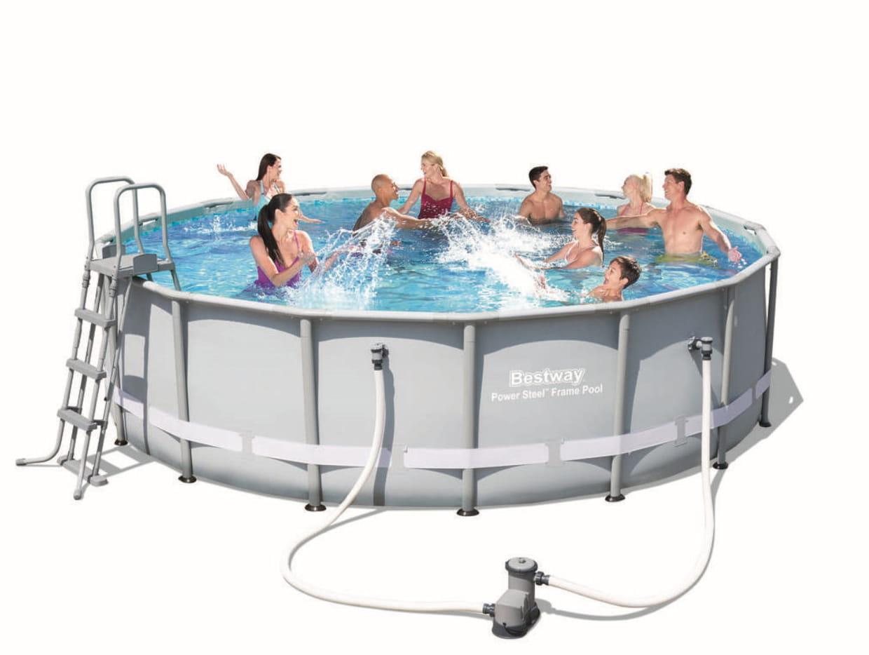 Piscine tubulaire par bestway for Toys r us piscine