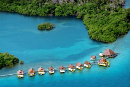 Le Punta Caracol Acqua Lodge à Bocas del Tor au Panama