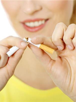 pendant la détox, exit la cigarette.