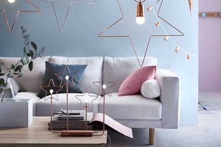 suspension toile d 39 ikea le no l d 39 ikea en avant premi re journal des femmes. Black Bedroom Furniture Sets. Home Design Ideas