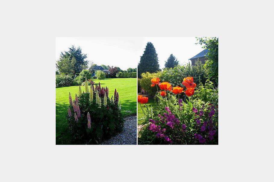 Un jardin normand tr s fleuri elisez le plus beau jardin for Le jardin normand