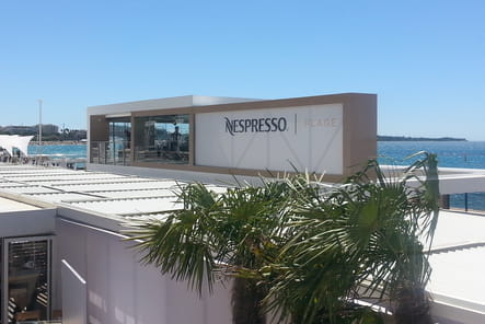 Bienvenue sur la Plage Nespresso