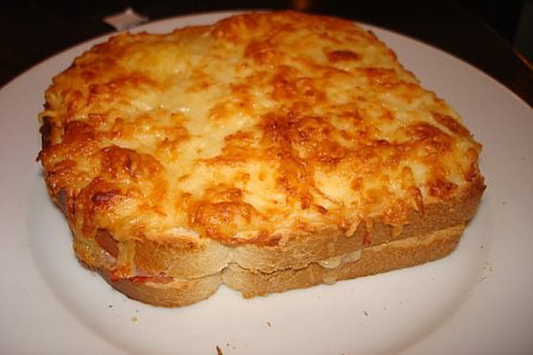 Croque monsieur gratiné