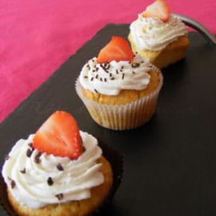 cupcakes citron fraise