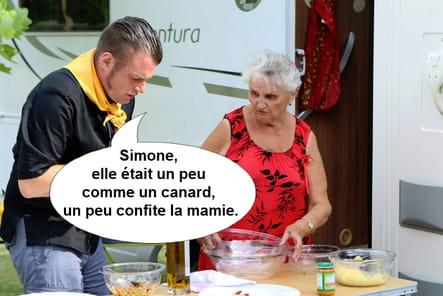 Norbert à propos de Simone, son commis au camping