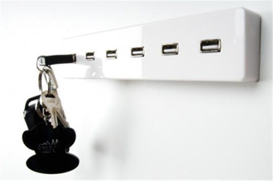 Porte clés USB