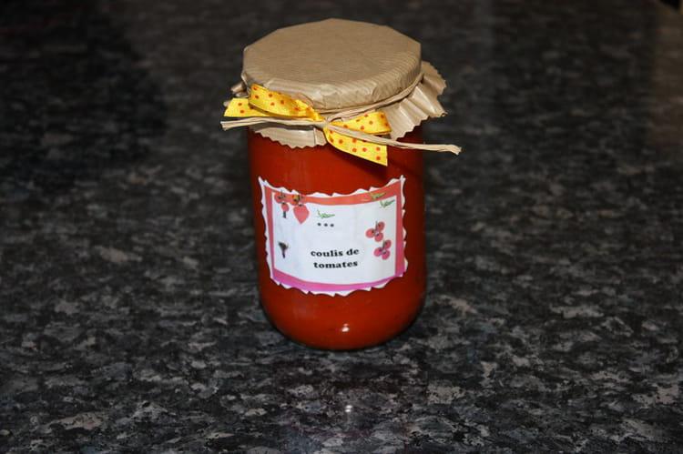 Recette de Coulis de tomates fraîches   la recette facile 9614505c5fc