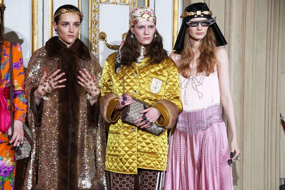 Gucci et sa collection Croisière 2018, le défiléà Florence