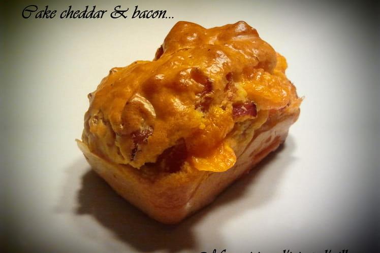 Mini-cakes cheddar et bacon