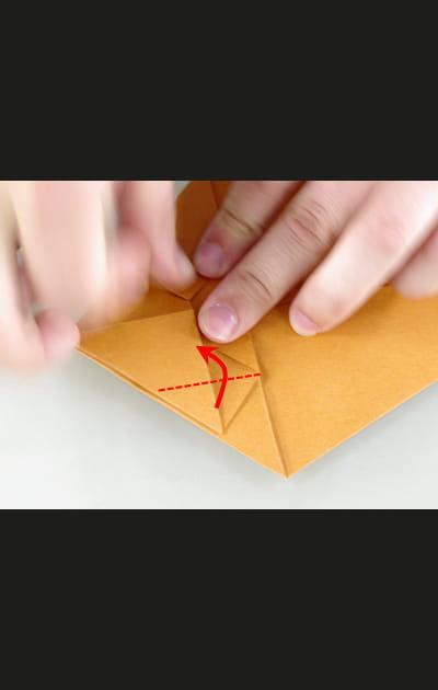 Origami chat - Etape 9