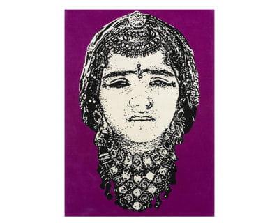tapis 'face', design manish arora, de the conran shop