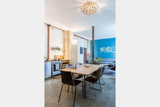 Un espace repas modernisé