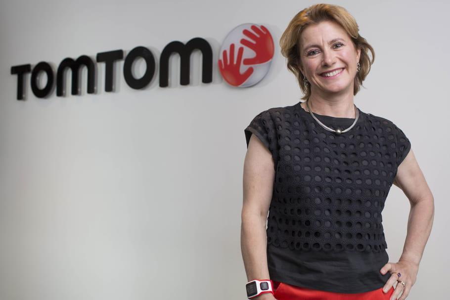 Corinne Vigreux, madame TomTom