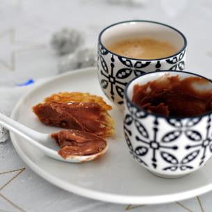 pâte à tartiner carambar et chocolat blanc