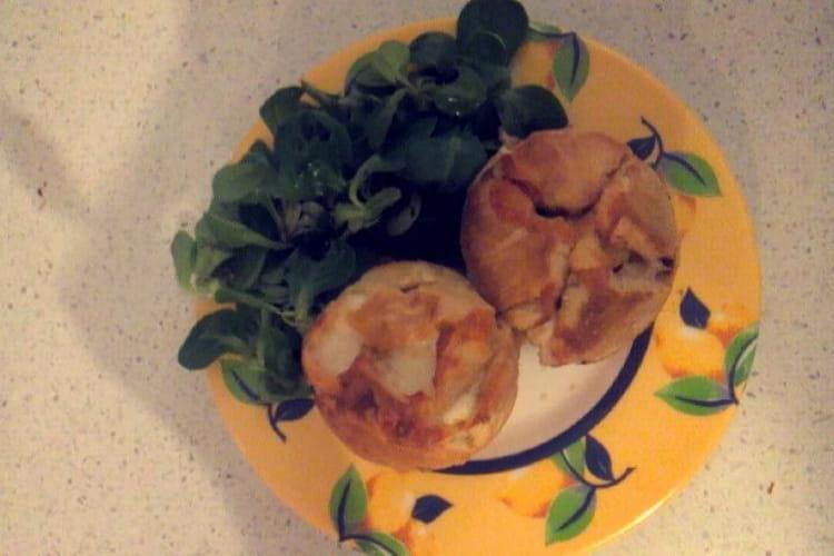 Muffins au fromage de vache/brebis