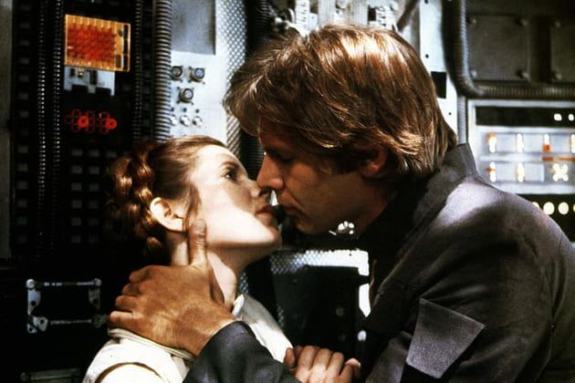 Avec Harrison Ford dans Star Wars